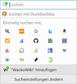 OpenSearch in Firefox
